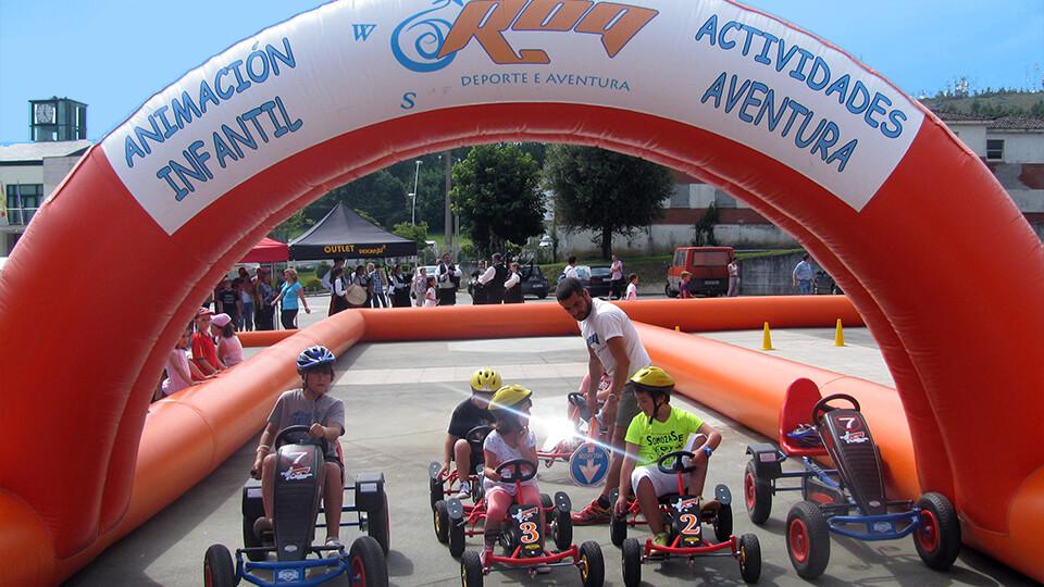 Roqsport circuito de karts a pedales